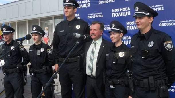 В Херсоне заработала патрульная полиция Крыма и Севастополя