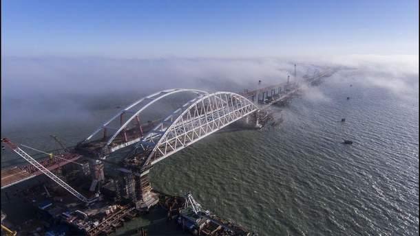 Крымский мост: убытки, причиненные Черному и Азовскому морям, достигают 10 миллиардов гривен