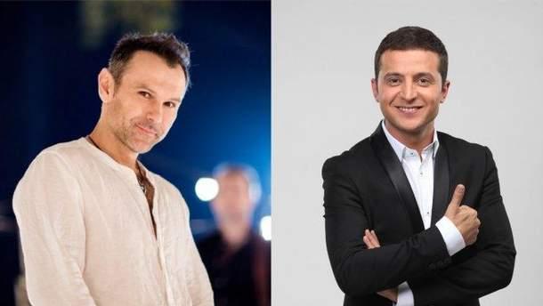 Украинцы на президентский выборах-2019 готовы голосовать за Вакарчука и Зеленского