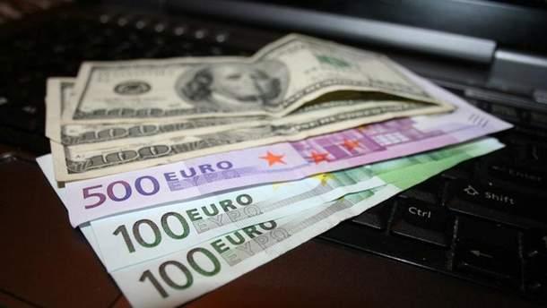 Наличный курс валют 16 мая в Украине