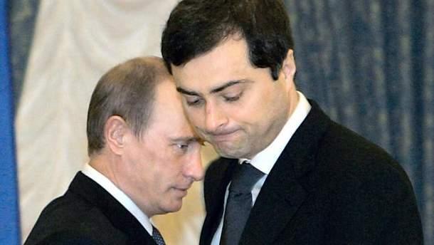 Путіна перестав влаштовувати Сурков
