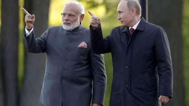 Индия и Российская Федерация  составляют план для обхода американских санкций— Times ofIndia