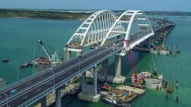 В ЕС отреагировали на строительство Крымского моста