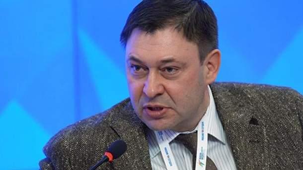 """Журналіст """"РИА Новости Украина"""" Вишинський"""