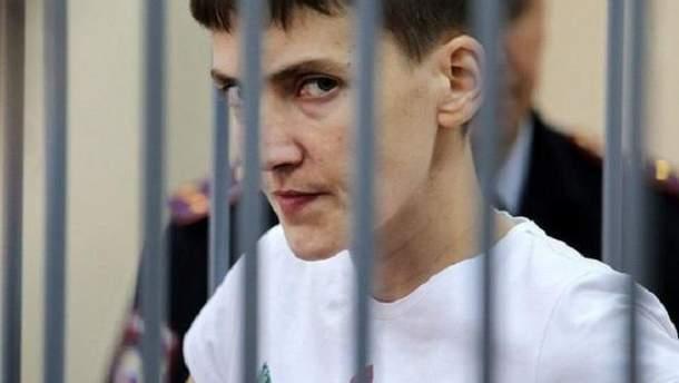 Савченко готова вернуться в российскую тюрьму сроком на 22 года