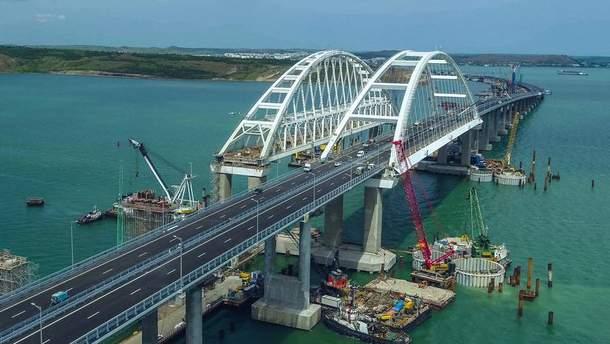 Гройсман розповів про відповідь України Росії через відкриття Кримського мосту