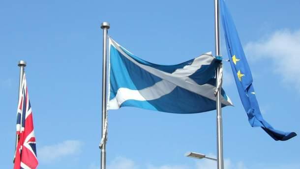 Шотландский парламент не поддержал законопроект о выходе Британии из ЕС