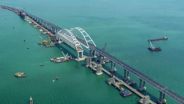 Франция осудила строительство Крымского моста Россией