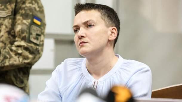 Савченко написала Путину письмо с просьбой