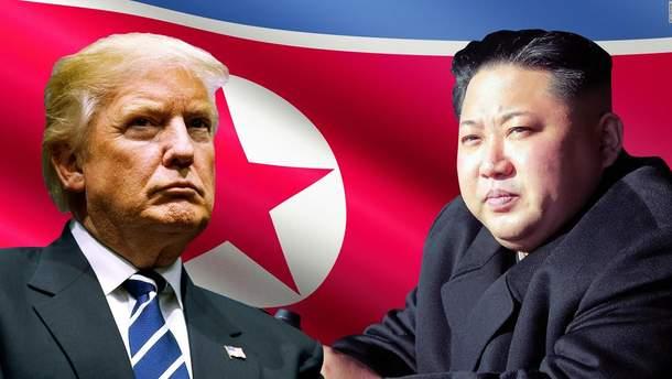 КНДР пригрозила скасувати зустріч Трампа та Кім Чен Ина