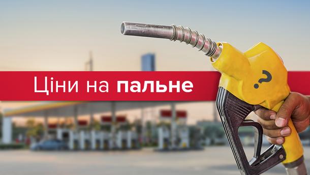 Ціни на пальне в Україні