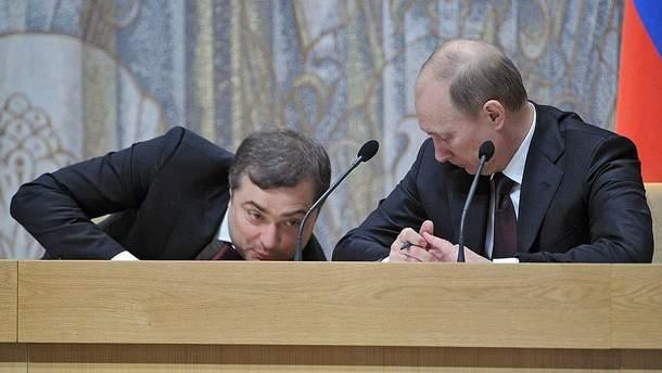 Кремль специально запустил слухи об увольнении Суркова?