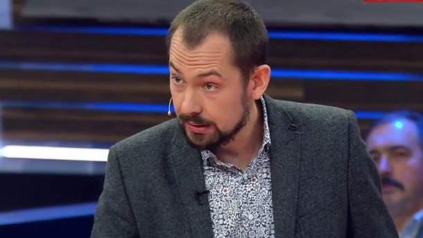 Роман Цимбалюк выступил на российском телевидении с критикой в адрес Крымского моста