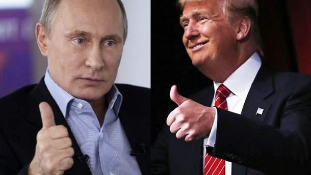 Трамп говорить з Путіним з позицій сили