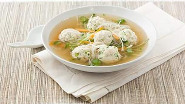Смачний рецепт супу з перловкою і фрикадельками
