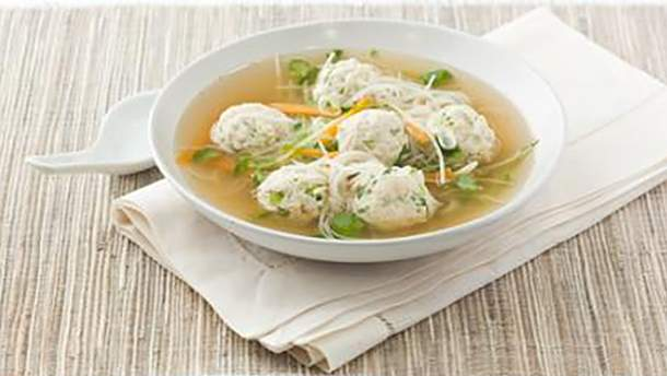 Вкусный рецепт супа с перловкой и фрикадельками