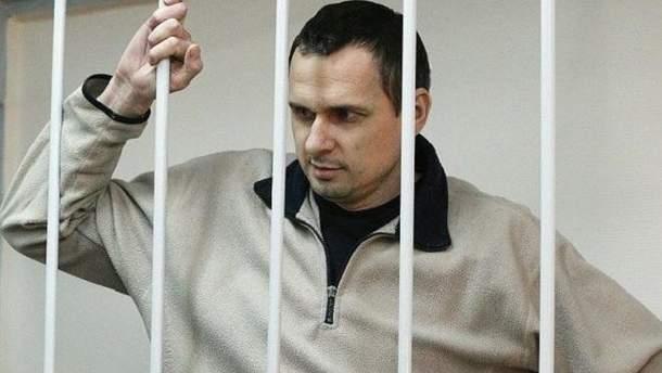 Денісова просить омбудсмена РФ особисто перевірити умови тримання Сенцова