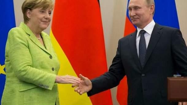 Во время встречи в Сочи Путин и Меркель могут прийти к согласию в вопросе газового конфликта