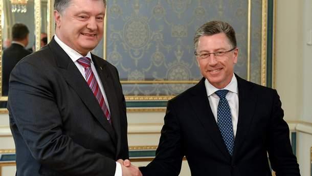 Петр Порошенко встретился с Куртом Волкером