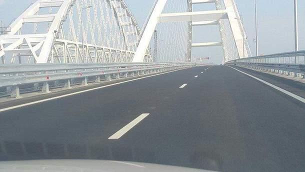 Крымский мост пустует в первый день запуска