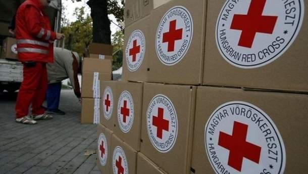 Червоний Хрест передав на Донбас 200 тонн гумдопомоги, – Держприкордонслужба