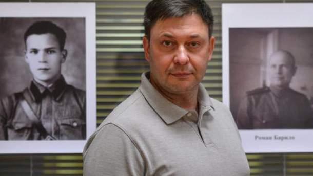 Суд арестовал Вышинского надва месяца