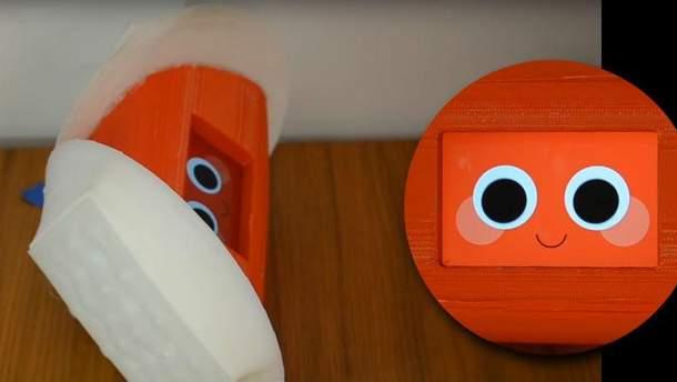 Очень эмоциональный робот