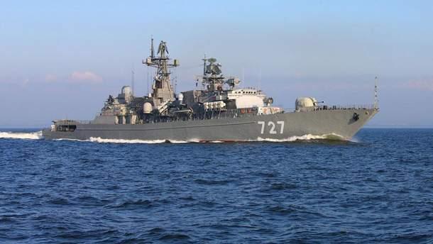 Кораблі Росії залишають у Середземному морі на постійній основі