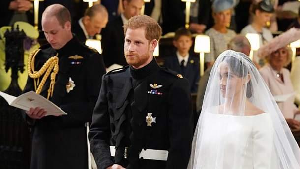 Королевская свадьба принца Гарри и Меган Маркл: свадебное платье Меган Маркл