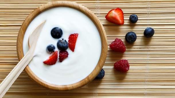 Йогурт обладает противовоспалительными свойствами