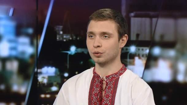"""Журналіст """"Bihus.info"""" Антон Столяров"""