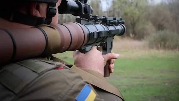 Нацгвардия получила на вооружение 500 гранатометов из США