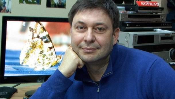 """В МИД России требуют отменить арест руководителя """"РИА Новости Украина"""" Вышинского"""