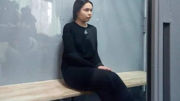 Алена Зайцева ехала на красный сигнал светофора в момент совершения ДТП в Харькове
