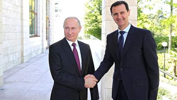 Путін зустрівся з Асадом