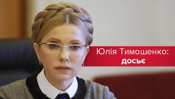 Що потрібно знати про Юлію Тимошенко?