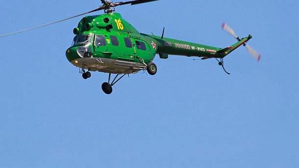 В Ставропольском крае закопали вертолёт, чтобы скрыть следы авиакатастрофы