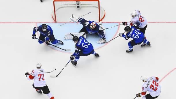 Збірна Фінляндії програла Швейцарії у чвертьфіналі ЧС
