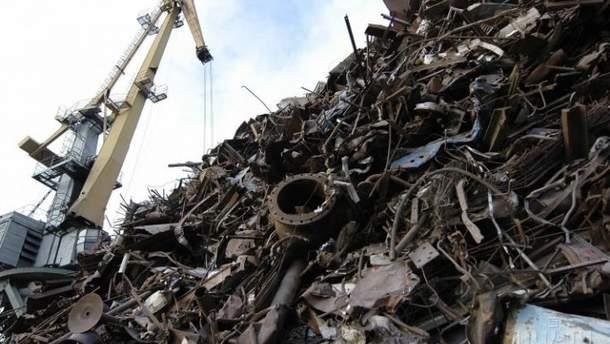 42 евро за тонну до сентября 2019 года: Верховная Рада подняла экспортную пошлину на металлолом
