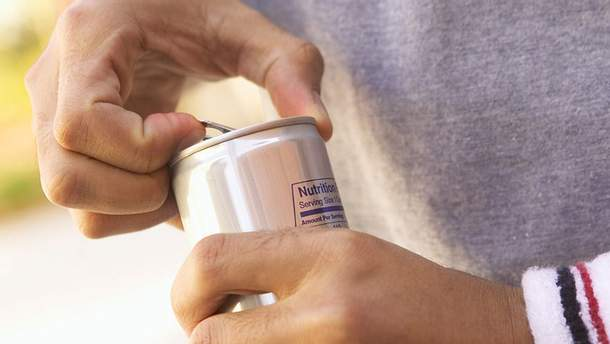 Енергетичні напої є найшкідливішим для здоров'я