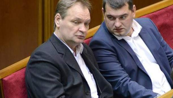 Александр Пономарев (слева)
