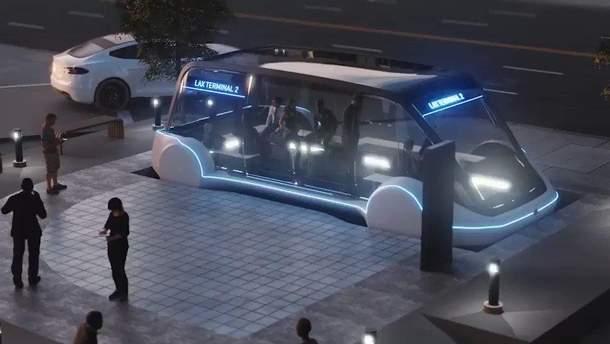 Маск розповів про Loop під Лос-Анджелесом