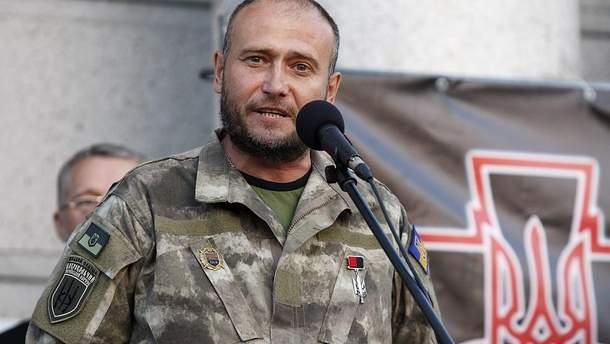 Ярош назвал имена тех, кто ликвидировал главаря боевиков