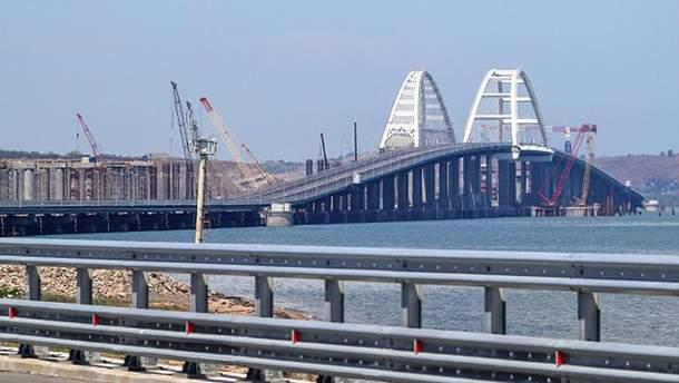 Жителі окупованого розповіли про проблеми внаслідок будівництва Кримського мосту
