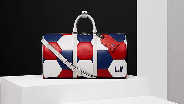 Коллекция Louis Vuitton для футбольных фанатов