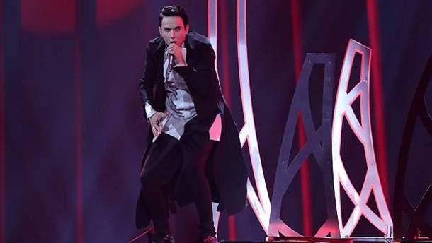 Виступ MELOVIN'а на сцені Євробачення-2018