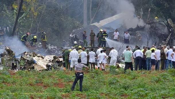 Авіакатастрофа на Кубі 18 травня