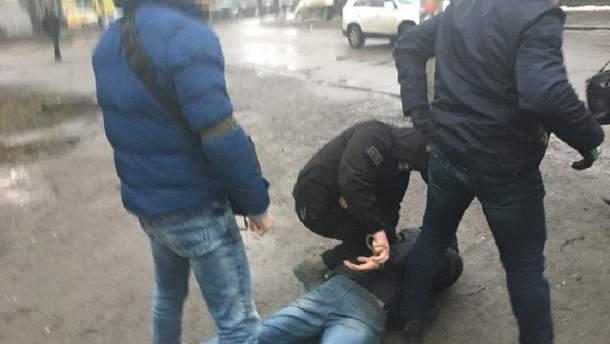 Задержание в Ровно