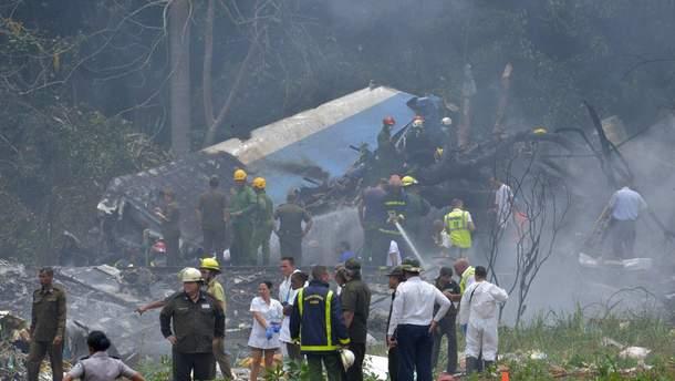 Украинцев среди пострадавших в авиакатастрофе на Кубе не было