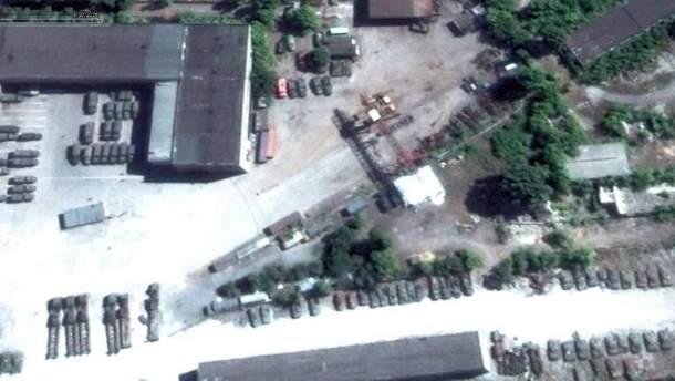 Российские склады в Донецке